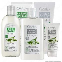 Omia Confezione Regalo Beauty Routine all'Aloe Vera - Confezione da 5pz.