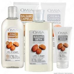 Omia Confezione Regalo Beauty Routine Olio di Argan - Confezione da 5pz.