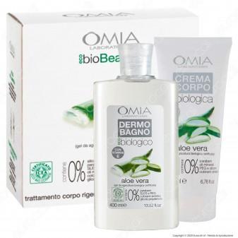 Omia Trattamento Corpo Rigenerante Natural Beauty Body Aloe Vera - Confezione da 2pz.