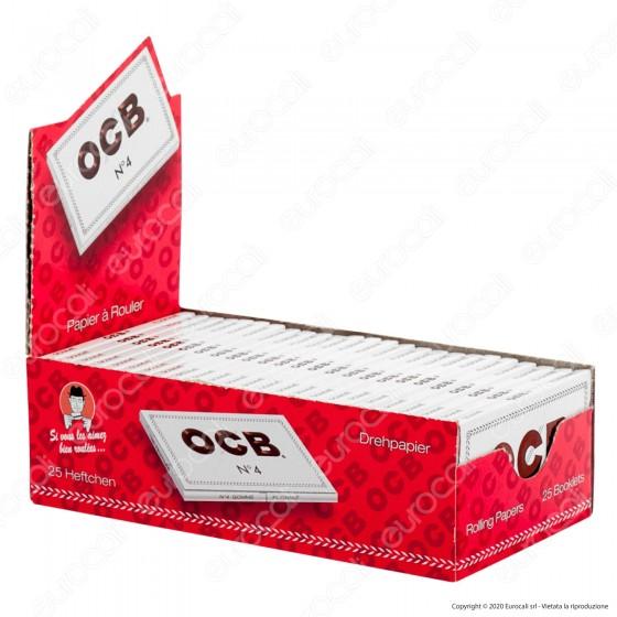 PROV-A00250005 - Cartine Ocb Bianche Corte Doppie - Scatola da 25 Libretti