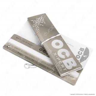 PROV-A00271001 - Cartine Ocb X-pert Argento XXL King Size Lunghe - Scatola da 50 Libretti