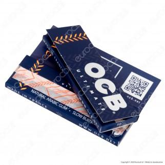 PROV-A00261002 - Cartine Ocb Ultimate Corte - Scatola da 50 Libretti