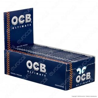 PROV-A00262005 - Cartine Ocb Ultimate Corte Doppie - Scatola da 25 Libretti