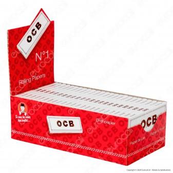 PROV-A00249002 - Cartine Ocb Bianche Corte - Scatola da 50 Libretti