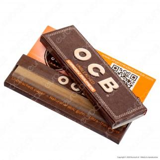 PROV-A00266002 - Cartine Ocb Virgin Paper Senza Cloro Corte - Scatola da 50 Libretti