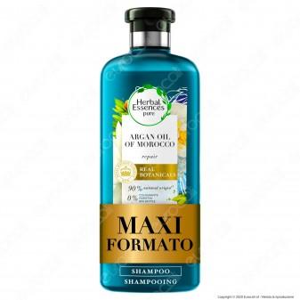 Herbal Essences Shampoo Capelli Danneggiati Riparatore con Olio di Argan - Flacone da 400ml