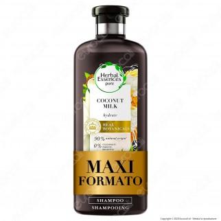 Herbal Essence Shampoo Idratante Capelli Latte di Cocco - Flacone da 400ml