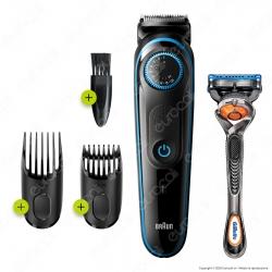 Braun Beard Trimmer 5 BT5240 Regolatore Barba e Tagliacapelli