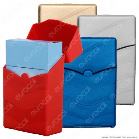 Bravo Portasigarette Portapacchetto in Plastica con Porta Accendino