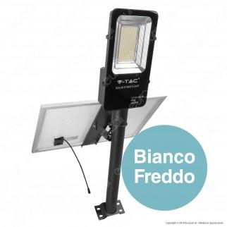 V-Tac VT-ST-200 Lampada Stradale LED con Pannello Solare 50W Lampione SMD - SKU 5502 / 95509