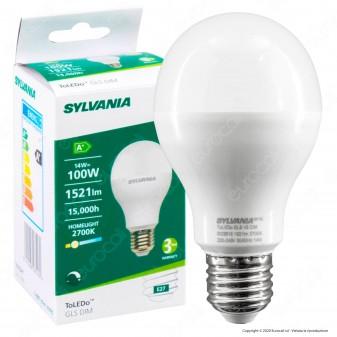 Sylvania ToLEDo GLS DIM Lampadina LED E27 14W Bulb A65 Dimmerabile - mod. 28516