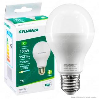 Sylvania ToLEDo Lampadina LED E27 14W Bulb A65 Dimmerabile - mod. 26648