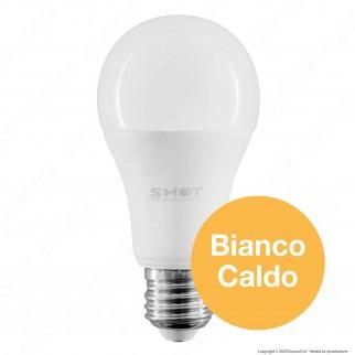 Bot Lighting Shot Lampadina LED E27 13,5W Bulb A60 Dimmerabile - mod. SLD1014X2D