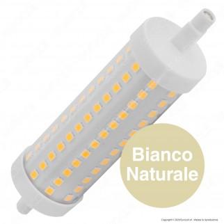 Life Lampadina LED R7s L118 16W Bulb Tubolare con Attacco Asimmetrico - mod. 39.932116C / 39.932116N