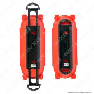 V-Tac VT-1124-3 Guscio di Protezione da Esterno IP44 per Connessioni Prolunghe - SKU 8819