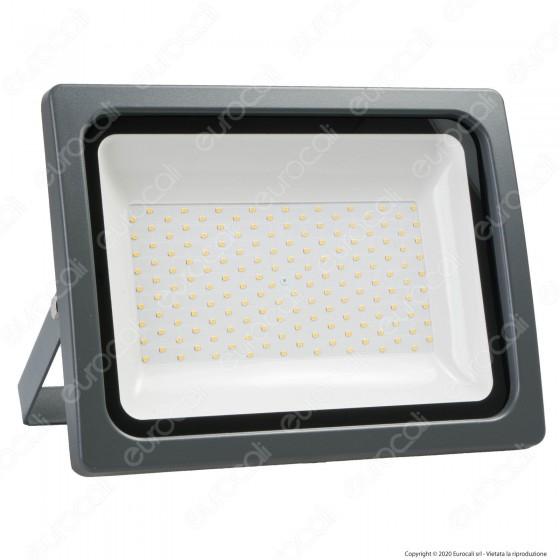 Life Electronics Faretto Grigio LED SMD 150W 39.9FA015 Uso Esterno IP65