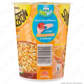 Star Saikebon Noodles al Gusto di Pollo Pronti in 3 Minuti - Cup da 60g.