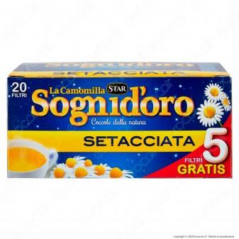 Star La Camomilla Sognid'oro Setacciata - 20 filtri