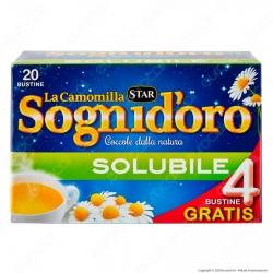 Star Sogni D'oro La Camomilla Solubile - Confezione da 20 Bustine