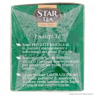Star Tea Tè Verde Delicato e Rinfrescante - Confezione da 25 Filtri