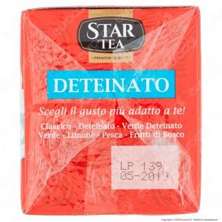 Star Tea Tè Nero Deteinato - Confezione da 25 Filtri