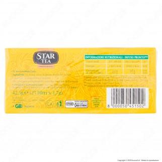 Star Tea Tè Fruttato al Limone Profumato e Dissetante - Confezione da 25 Filtri