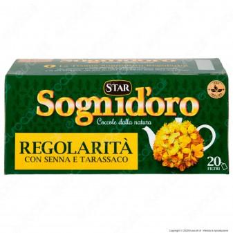 Star Sogni D'oro Tisana Regolarità con Senna e Tarassaco - Confezione da 20 filtri