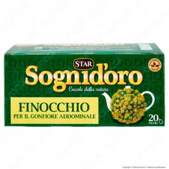 Star Sogni D'oro Tisana Finocchio per il Gonfiore Addominale - Confezione da 20 Filtri