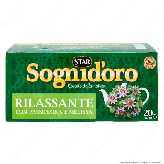 Star Sognid'oro Tisana Rilassante - Confezione da 20 Filtri
