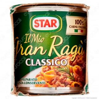 Star Il Mio Gran Ragù Classico Sugo Pronto con Pomodoro e Carne Italiana - 3 Lattine da 100g