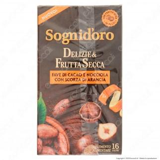 Star Sogni D'oro Infuso Delizie e Frutta Secca Fave di Cacao e Nocciola con Scorza di Arancia - Confezione da 16 Filtri