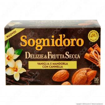 Sogni D'oro Infuso Delizie e Frutta Secca con Vaniglia Mandorla e Cannella - Confezione da 16 Filtri