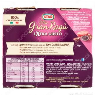 Star Il Mio Gran Ragù Extra Gusto Sugo Pronto Pomodoro Carne Italiana e Spezie Profumate - 2 Lattine da 180g
