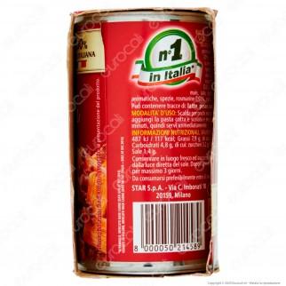 Star Il Mio Gran Ragù con Salsiccia Sugo Pronto con Pomodoro e Carne Suina Italiana - 2 Lattine da 180g