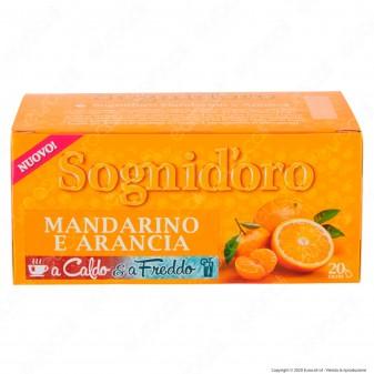 Sogni D'oro Infuso a Caldo e a Freddo Mandarino e Arance - Confezione da 20 Filtri
