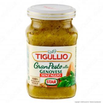 Tigullio Pesto alla Genovese Senza Aglio Senza Glutine - Vasetto da 190g