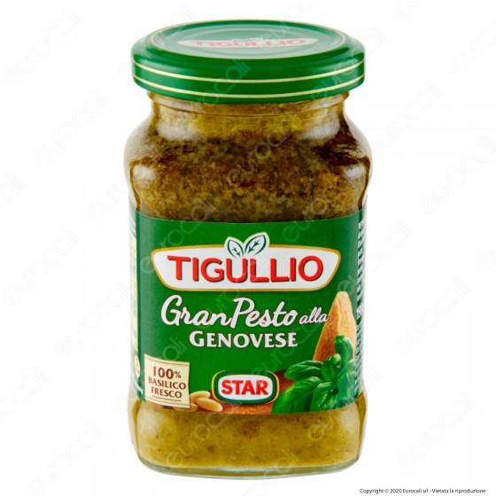 Tigullio Gran Pesto alla Genovese Senza Glutine - Vasetto da 190g