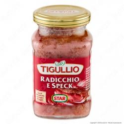 Tigullio Star Pesto Speciale Radicchio e Speck - Vasetto da 190g