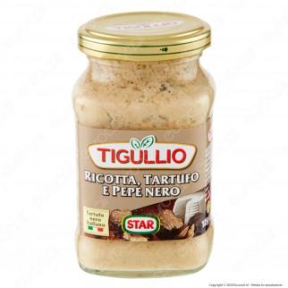 Tigullio Star Pesto Speciale Ricotta Tartufo e Pepe Nero - Vasetto da 190g