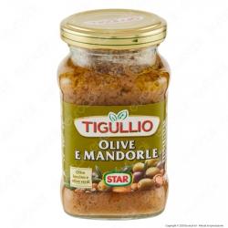 Tigullio Star Pesto Speciale Olive e Mandorle - Vasetto da 190g