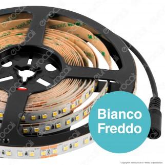 Life Striscia LED 3328 Monocolore 28W/M 120 LED/metro 24V - Bobina da 5 metri - mod. 16.LS412002N / 16.LS412002F