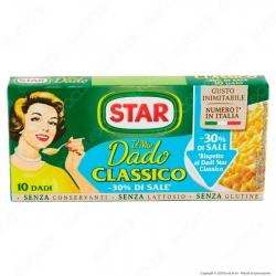 Star Il Mio Dado Classico con Meno Sale - Confezione da 10 dadi