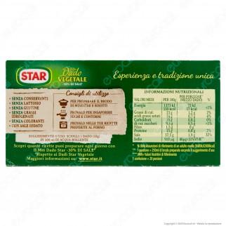 Star Il Mio Dado Vegetale con Meno Sale - Confezione da 10 dadi