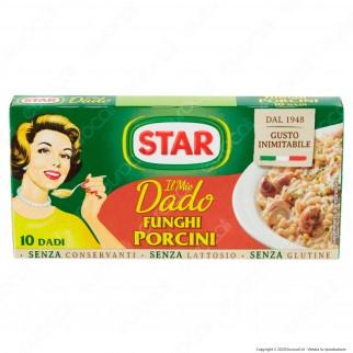 Star Il Mio Dado con Funghi Porcini - Confezione da 10 dadi