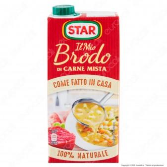 Star Il Mio Brodo Pronto di Carne Mista Pollo e Manzo - Confezione da 1 Litro