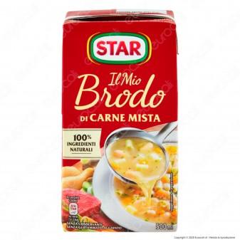 Star Il Mio Brodo Pronto di Carne Mista Pollo e Manzo - Confezione da 500ml