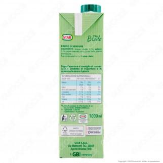 Star Il Mio Brodo Pronto di Verdure - Confezione da 1 Litro