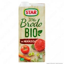 Star Il Mio Brodo Pronto Bio di Manzo - Confezione da 1 Litro