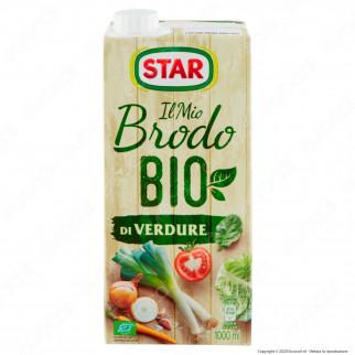 Star Il Mio Brodo Pronto Bio di Verdure - Confezione da 1 Litro
