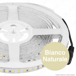 V-Tac VT-2835 Striscia LED SMD 2835 7,2W/m 24V Monocolore 120 LED/metro - Bobina da 10 metri - SKU 2622 / 2623 / 2624